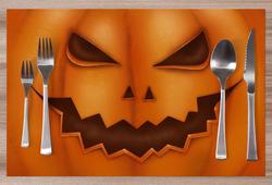 Prostírání Pumpkin face