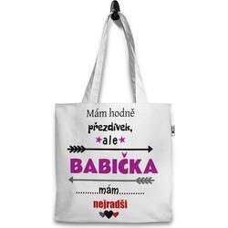 Taška Mám hodně přezdívek – babička