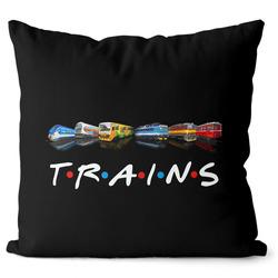 Polštář Trains