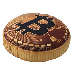 3D polštář Bitcoin