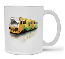Hrnek Regionální vlak – Matné sklo