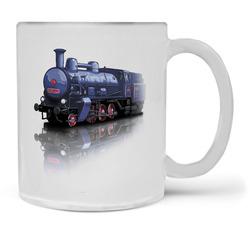 Hrnek Parní lokomotiva – Matné sklo