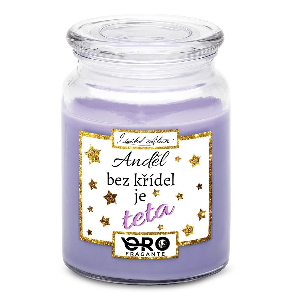 Svíčky pro tetu