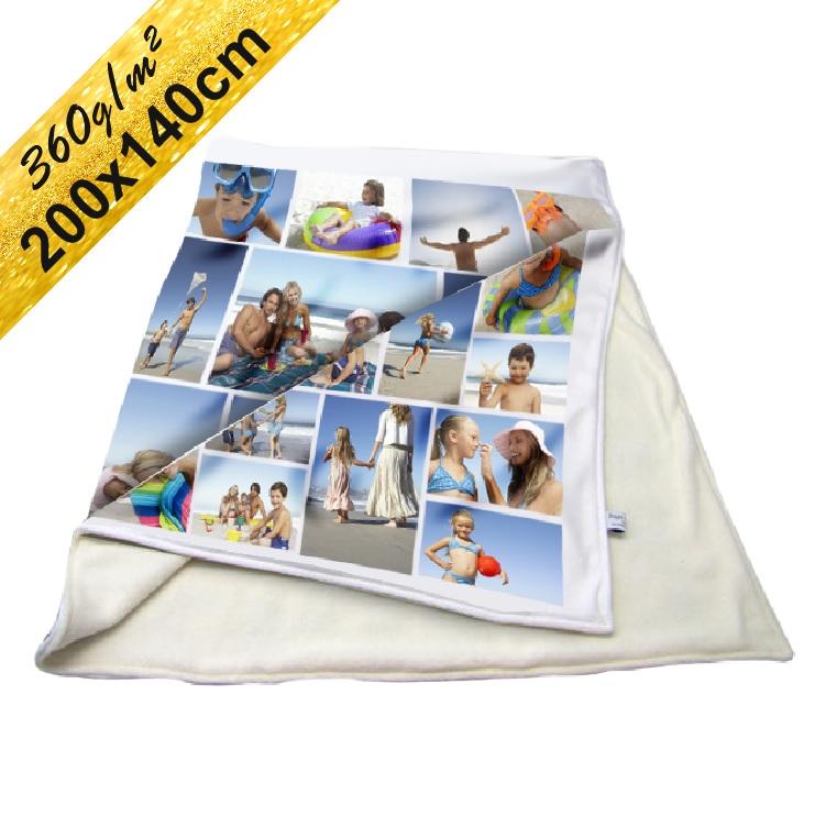 Deka Maxi ∞ fotografií a textů 140x200cm 360g/m²