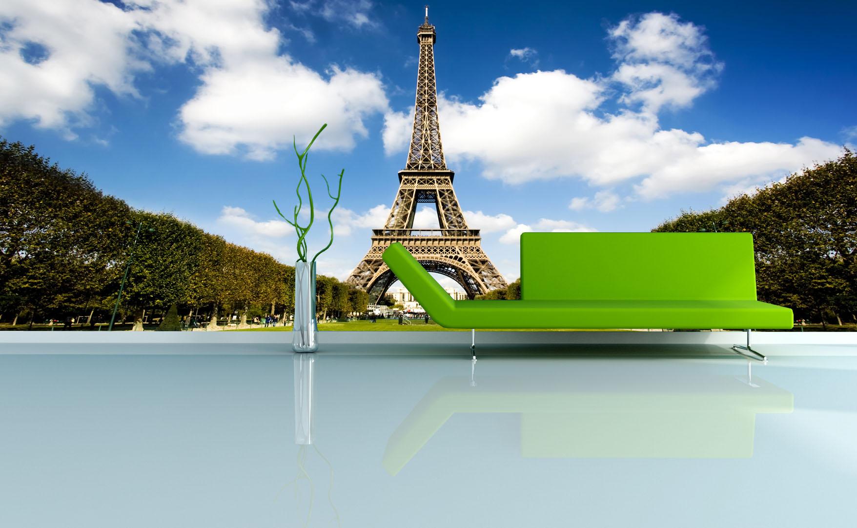 IMPAR Fototapeta Eiffelova věž (Rozměr : 126 x 81)