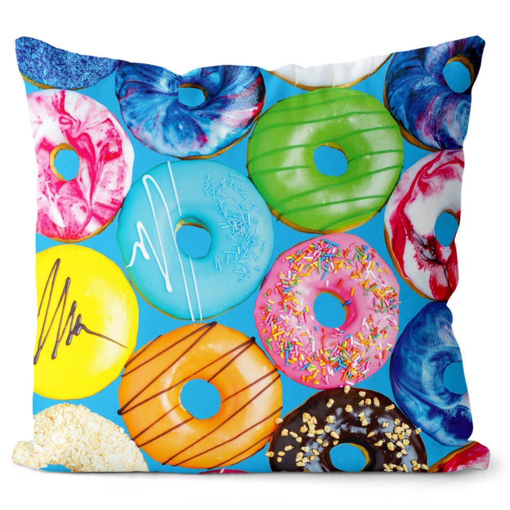Polštář Donuts