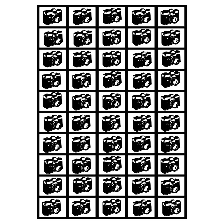 Deka Koláž z 50 fotografií 360g/m² 140x200 cm