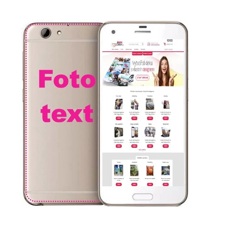 IMPAR Kryt na mobil HTC A9S s vlastním potiskem