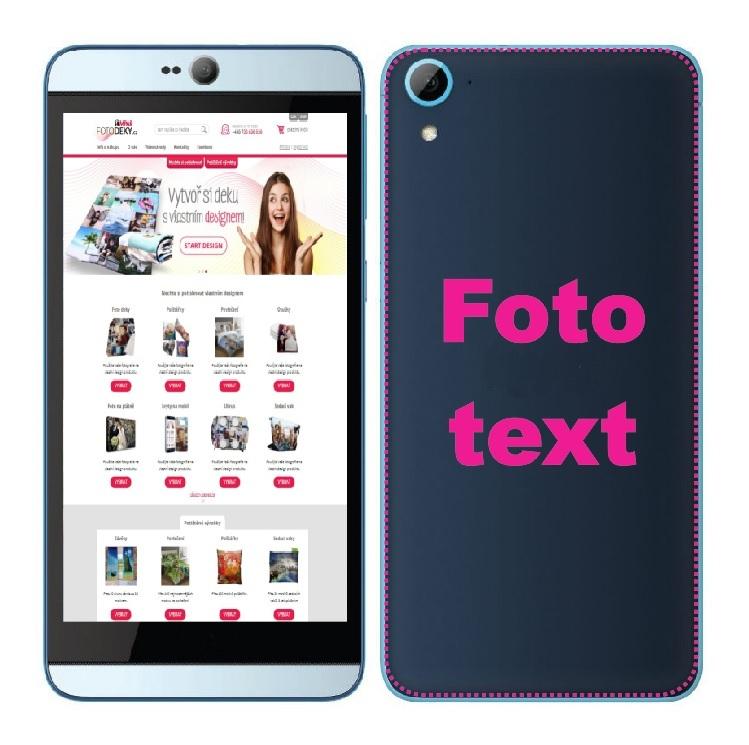 IMPAR Potisk krytu na telefon HTC Desire 820