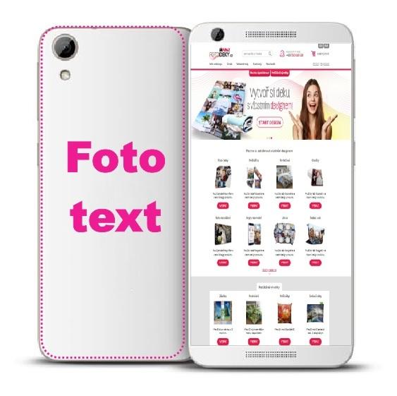 IMPAR Vlastní foto na kryt telefonu HTC Desire 626