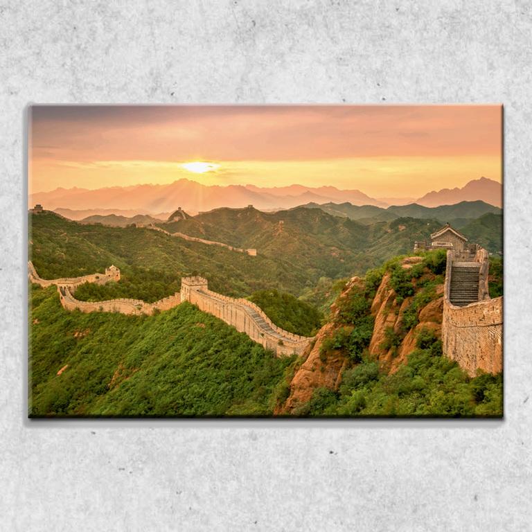 Foto na plátně Čínská zeď 90x60 cm