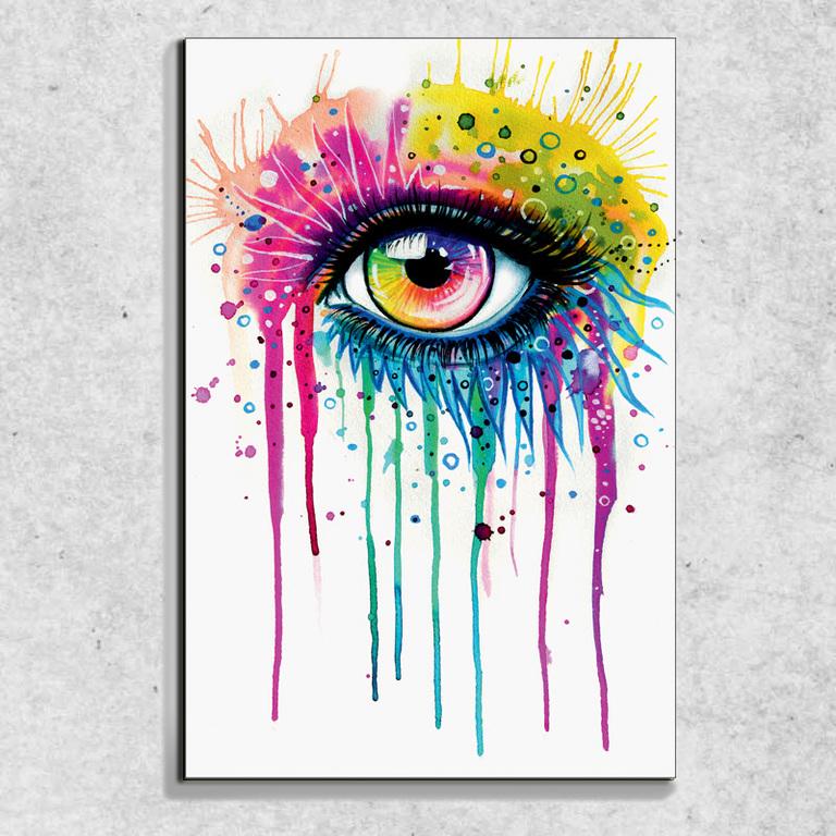 Foto na plátně Oko art 90x60 cm