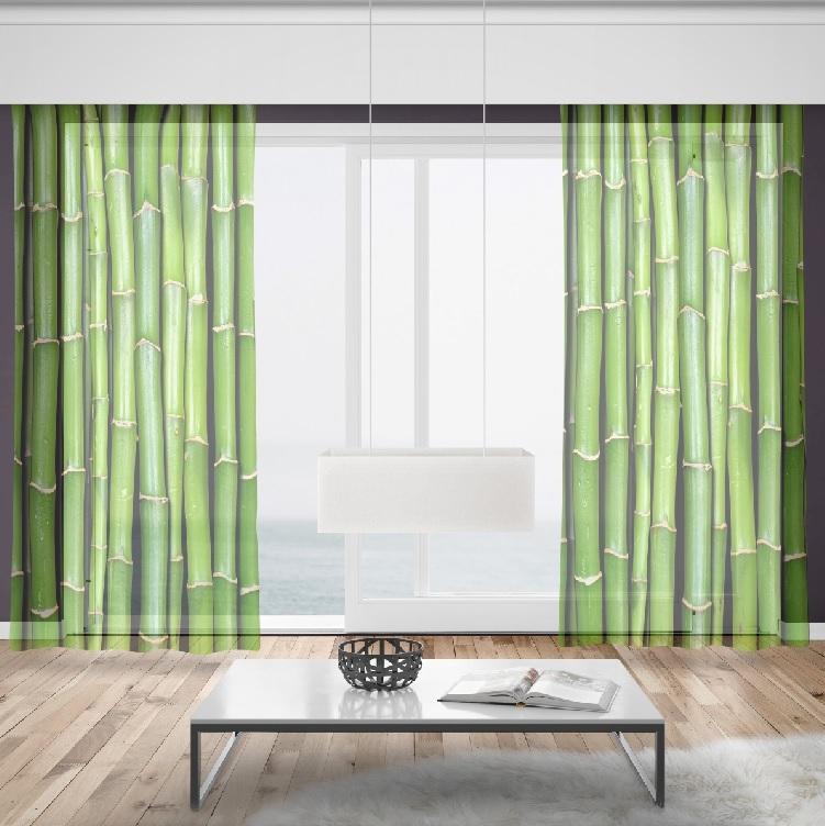 Záclony Bambus