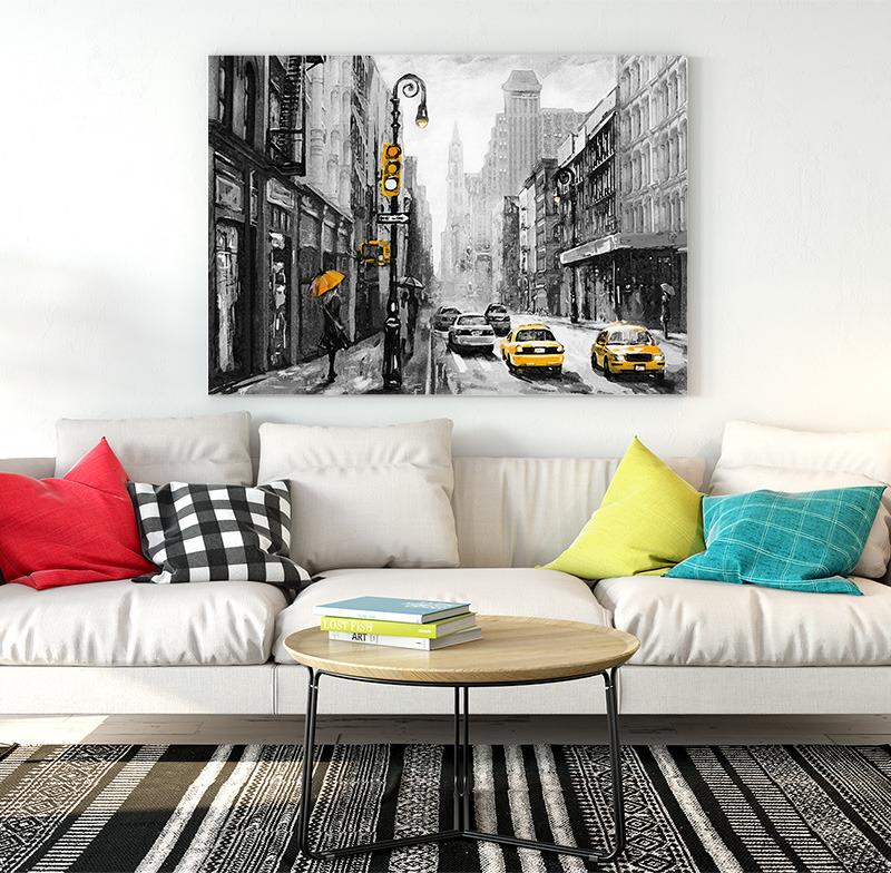 Obraz New York Art (Rozměr obrazu: 120x80)