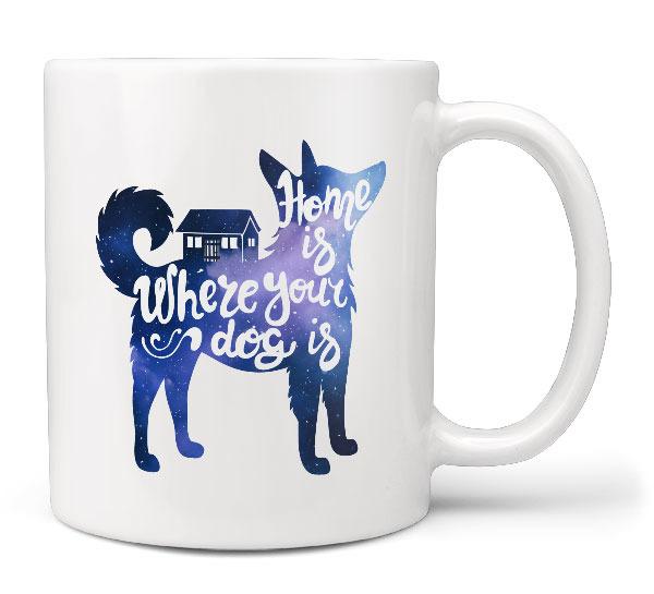 Levně Hrnek Home is dog