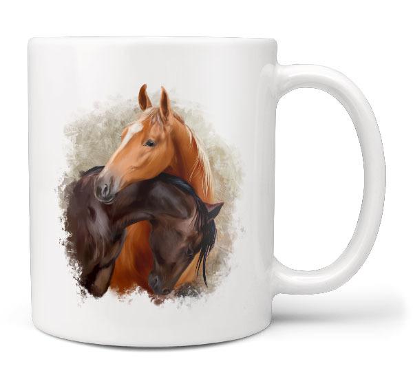 Hrnek Dva koně